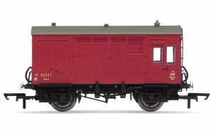 Hornby OO R6800 BR (ex-LMS) Horse Box