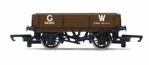Hornby OO R6806 3 Plank Wagon 'GW'