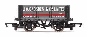 Hornby OO R6817 6 Plank Wagon 'J W Gadsden'