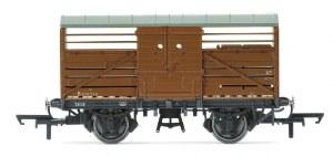 Hornby OO R6826A BR Dia 1529 Cattle Wagon 'B891214'