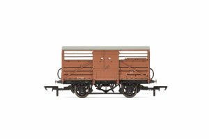 Hornby OO R6839A Dia 1529 Cattle Wagon British Railways