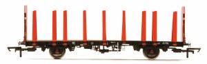 Hornby OO R6848 EWS OTA Timber Wagon (Tapered Stanchions) 200763