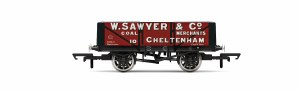 Hornby OO R6867 5 Plank Wagon W. Sawyer