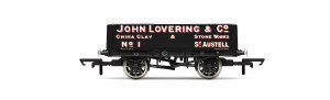 Hornby OO R6869 5 Plank Wagon 'John Lovering & Co.' No.1