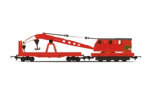 Hornby RailRoad OO R6881 Breakdown Crane