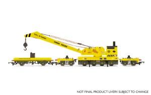 Hornby OO R6897 BR 75T Breakdown Crane