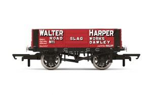 Hornby OO R6899 4 Plank Wagon 'Walter Harper' No.1