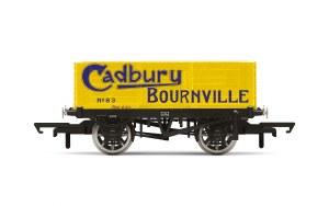 Hornby OO R6902 6 Plank Wagon 'Cadbury Bournville' No. 83