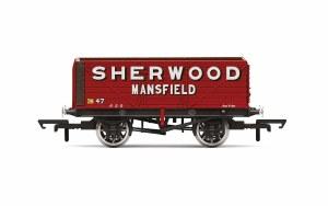 Hornby OO R6903 7 Plank Wagon 'Sherwood Colliery' No. 47