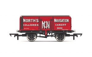 Hornby OO R6904 7 Plank Wagon 'North's Navigation' No. 3000