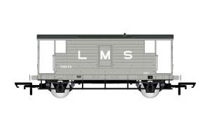 Hornby OO R6907A LMS D1919 20T Brake Van 730473