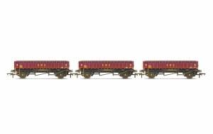Hornby OO R6928 MHA 'Coalfish' Ballast wagon, Three Pack, EWS, Era 9