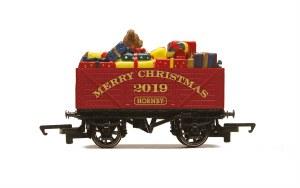 Hornby OO R6932 Hornby Christmas Plank Wagon, 2019