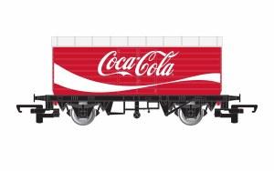 Hornby RailRoad OO R6934 LWB Box Van, Coca-Cola®