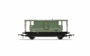 Hornby OO R6936 BR, D2068 20T Brake Van, DM731833, Era 7