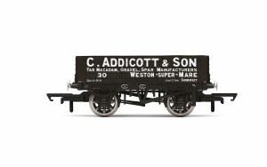 Hornby OO R6945 C. Addicott & Son, 4 Plank Wagon, No. 30 - Era 2/3