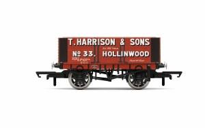 Hornby OO R6950 H. Harrison & Sons, 6 Plank Wagon, No. 33 - Era 2/3