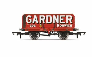 Hornby OO R6951 Gardner, 7 Plank Wagon, No. 306 - Era 2/3