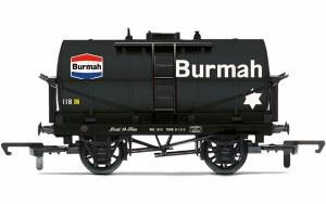 Hornby OO R6954 Burmah, 14T Tank wagon, No. 118 - Era 3/4