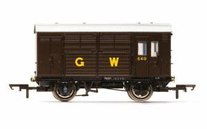 Hornby OO R6972 GWR, N13 Horse Box, 540 - Era 3