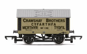 Hornby OO R6976 Crawshay Brothers, 8T Lime Wagon, No. 136 - Era 2/3