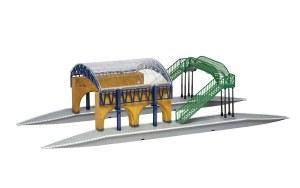 Hornby OO R7236 Platform 9 3/4