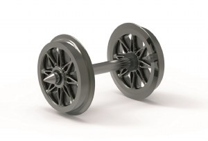 Hornby OO R8100 Split Spoked Wheels