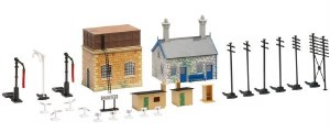Hornby OO R8228 TrakMat Building Accessories Pack No.2