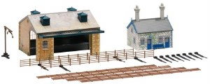 Hornby OO R8230 TrakMat Building Accessories Pack No.4