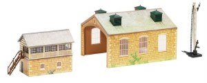 Hornby OO R8231 TrakMat Building Accessories Pack No.5