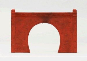 Hornby OO R8510 Single Brick Tunnel Portal x2