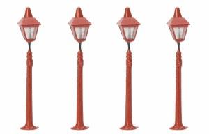 Hornby OO R8673 Platform Lamps x4