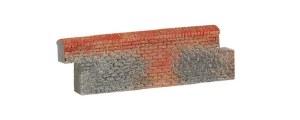 Hornby OO R8977 Brick Walling (Straight)