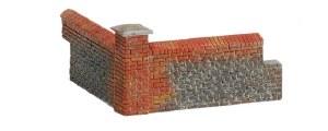 Hornby OO R8978 Brick Walling (Corners)