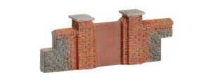 Hornby OO R8979 Brick Walling (Gates & Piers)