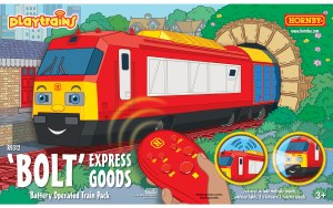 Hornby Playtrains OO R9312 Bolt Express Goods Battery Operated Train Pack