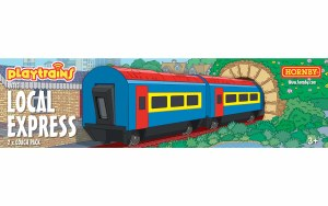 Hornby Playtrains OO R9315 Local Express 2 x Coach Pack
