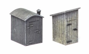 Hornby OO R9783 Lamp Huts x2