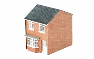 Hornby OO R9801 Modern Terraced House