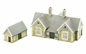 Hornby OO R9836 Granite Station Building