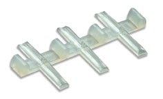 Peco OO SL-11 Rail Joiners Insulating for Code 100 Rail