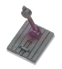 Peco OO9 SL-428 Turnout Levers dummy