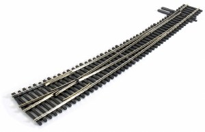 Peco HO SL-8376 #7 R/H Curved Turnout