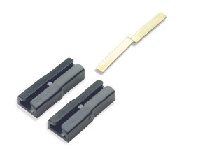 Peco G-45 SL-912 Dual Joiners plastic to join Peco code 250 rail to larger rail sections