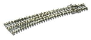 Peco N SL-E387 Electrofrog Curved double radius L/H