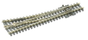 Peco N SL-E395 Electrofrog Medium radius R/H