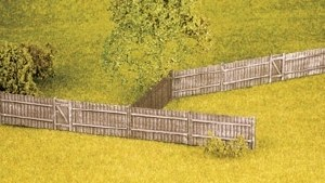 Wills Kits OO SS41 Feather Edge Board Fencing including gates