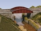 Wills Kits OO SS47 Bow Plate Girder Bridge