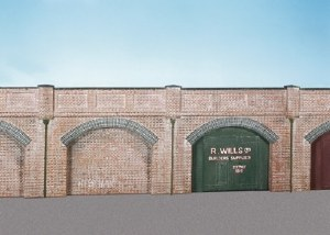Wills Kits OO SS52 Brick Retaining Arches 4