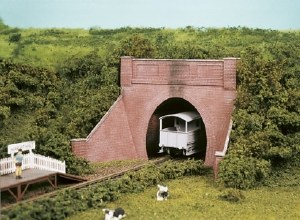 Wills Kits OO SS59 Brick Tunnel Mouth and Wing Walls single track